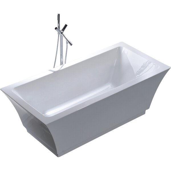 67 x 31.5 Soaking Bathtub by Legion Furniture