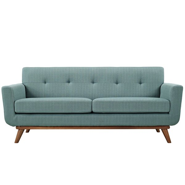 Johnston Tufted Loveseat by Langley Street