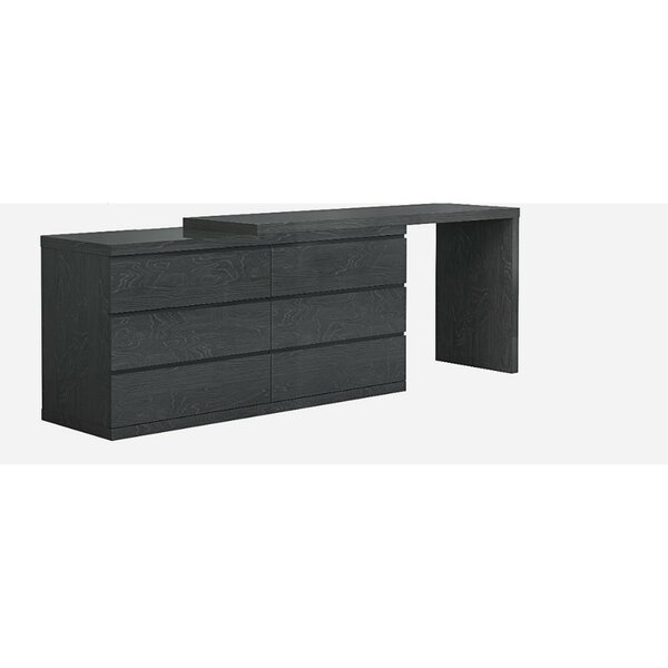 Carino 6 Drawers Double Dresser Extension by Orren Ellis