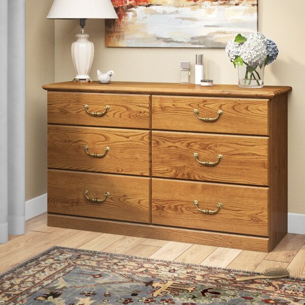 Brody 6 Drawer Double Dresser by Andover Mills