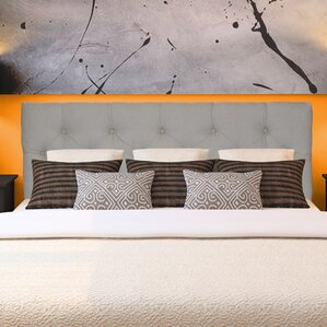 Jackie Upholstered Panel Headboard by Sole Designs