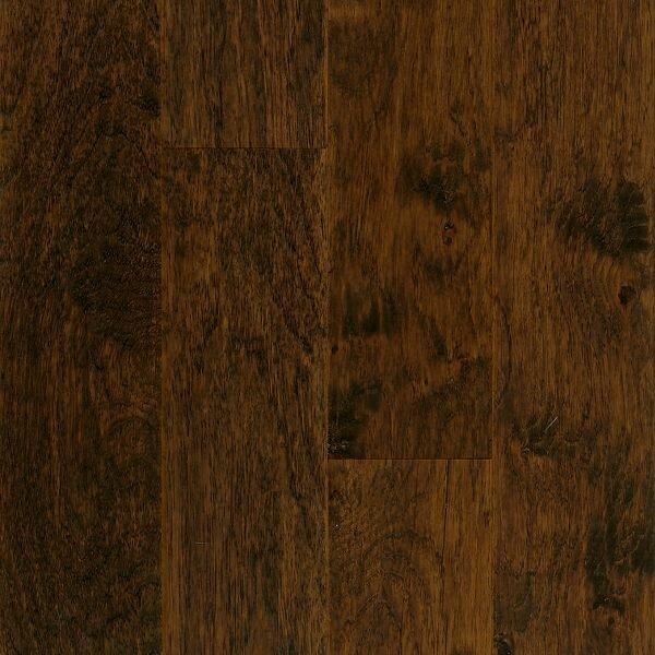 American Scrape 5 Engineered Hickory Hardwood Flooring in Western Mountain by Armstrong Flooring
