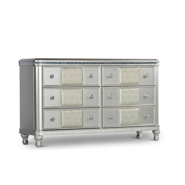 Taryn 6 Drawer Double Dresser by Mercer41