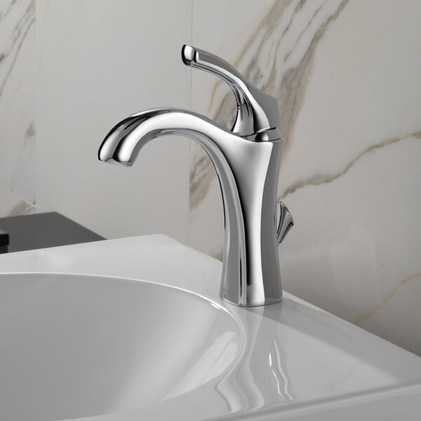 Addison Single hole Bathroom Faucet with Drain Assembly and Diamond Seal Technology by Delta Delta