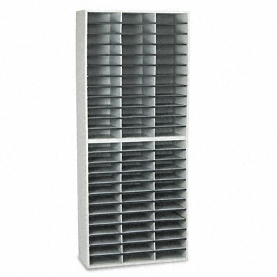 Fellowes® Literature 72 Compartment Organizer By Fellowes Mfg. Co..