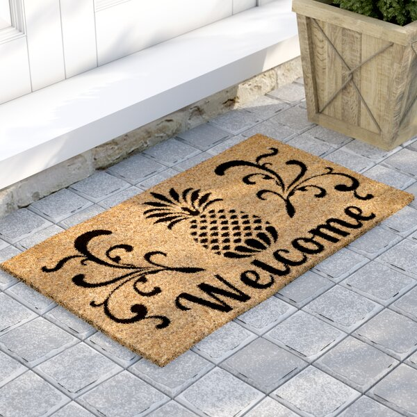 Haller Welcome Doormat by Beachcrest Home