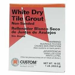 Dry Non-Sanded Tile Grout (Set of 6) by Custom Building Products