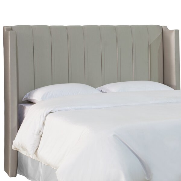 Juli Upholstered Wingback Headboard by Everly Quinn Everly Quinn
