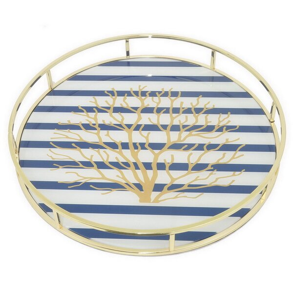 Langwater Accent Tray by Rosecliff Heights