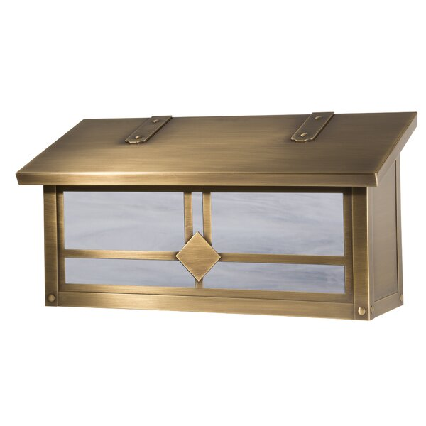 Raymond Horizontal Wall Mounted Mailbox by America's Finest Lighting Company