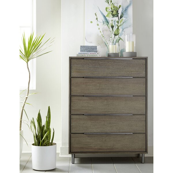 Mckaylah 5 Drawer Dresser by Wrought Studio