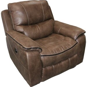 Emer Power Recliner by Red Bar..