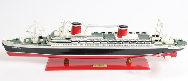 SS United States Model Ship by Old Modern Handicrafts