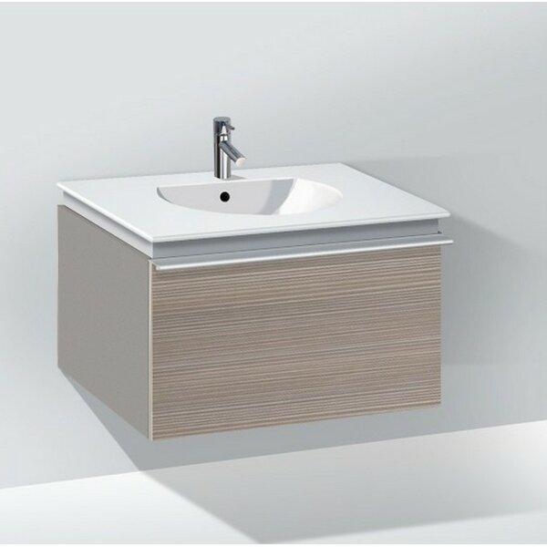 Darling New 24 Wall-Mounted Single Bathroom Vanity by Duravit
