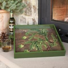 Ellman Ottoman Tray by The Holiday Aisle