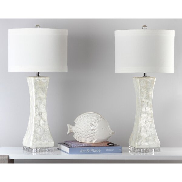 Shelley Concave 30.5 Table Lamp (Set of 2) by Safavieh
