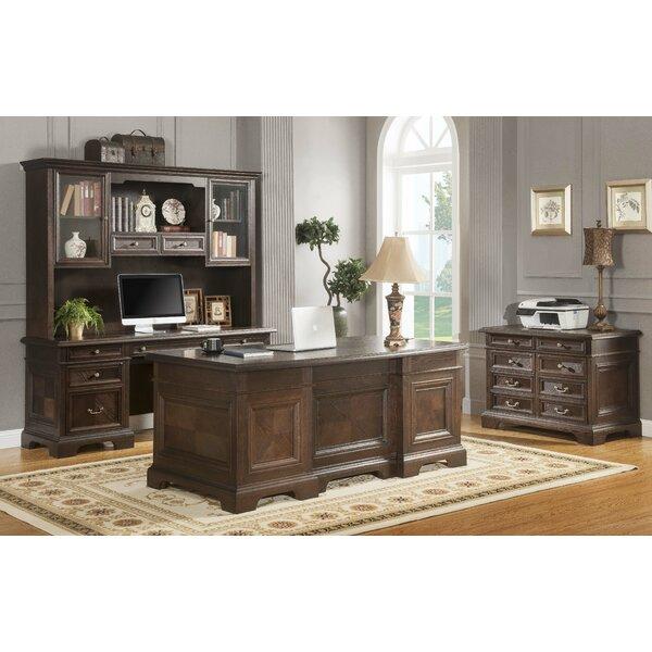 Ockton Desk with Hutch and 3 Pieces Set
