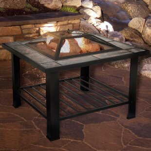 Charmant Steel Wood Burning Fire Pit Table