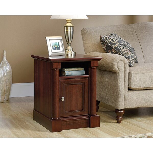 Vogler End Table with Storage by Canora Grey Canora Grey