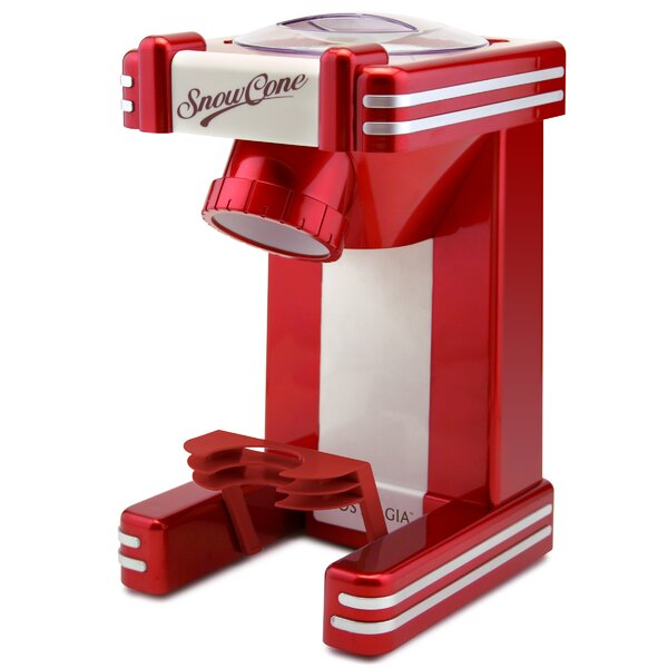Retro Single Snow Cone Maker by Nostalgia