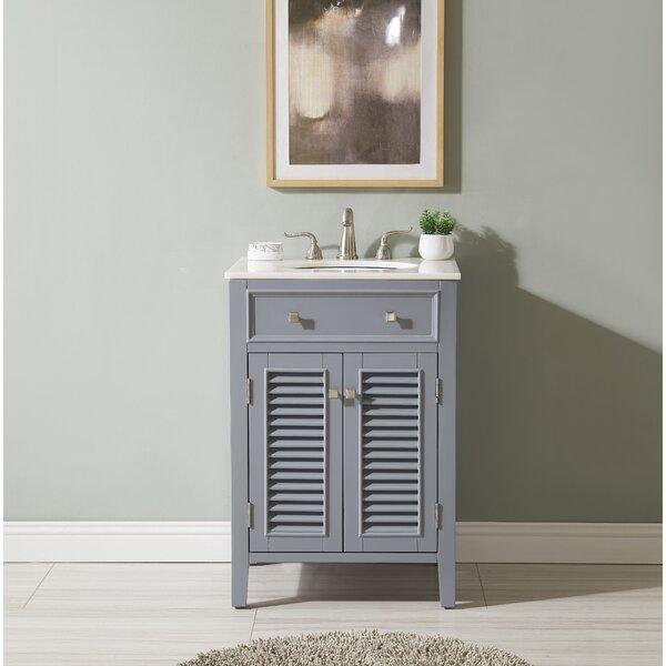 Adelbert 24 Single Bathroom Vanity Set