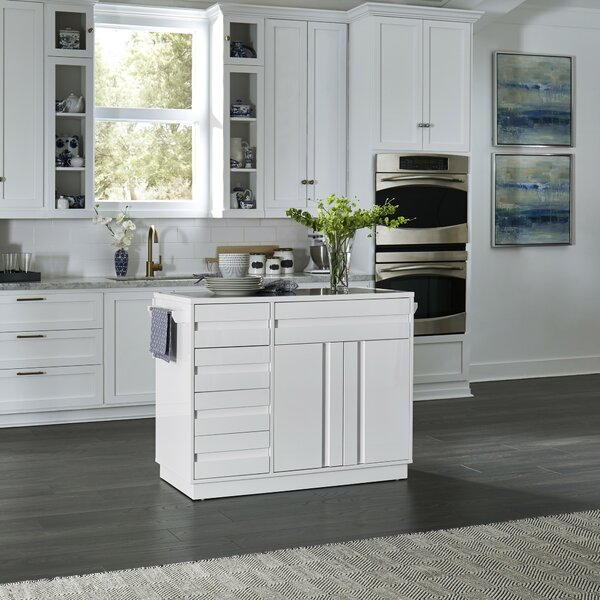 Emblyn Kitchen Island by Latitude Run