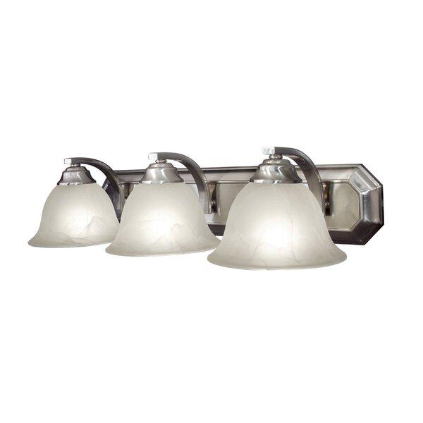 Marissa 3-Light Vanity Light by Woodbridge Lighting