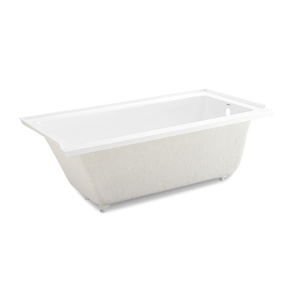 Voltaire 60 x 32 Drop-in Soaking Bathtub by Swiss Madison