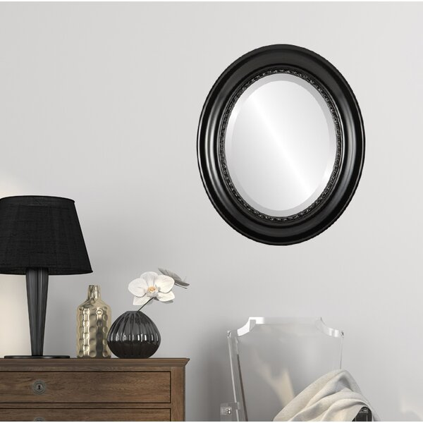 Winchelsea Framed Oval Accent Mirror by Charlton Home