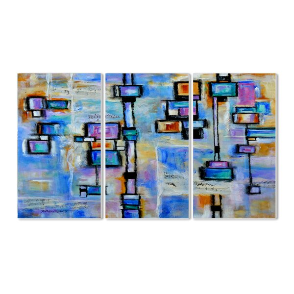 Abstract Dreams Triptych 3 Piece Wall Plaque Set by Stupell Industries