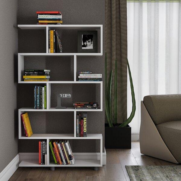 Amiel Geometric Bookcase By Latitude Run