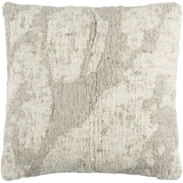 Ferreira Wool Throw Pillow by Brayden Studio