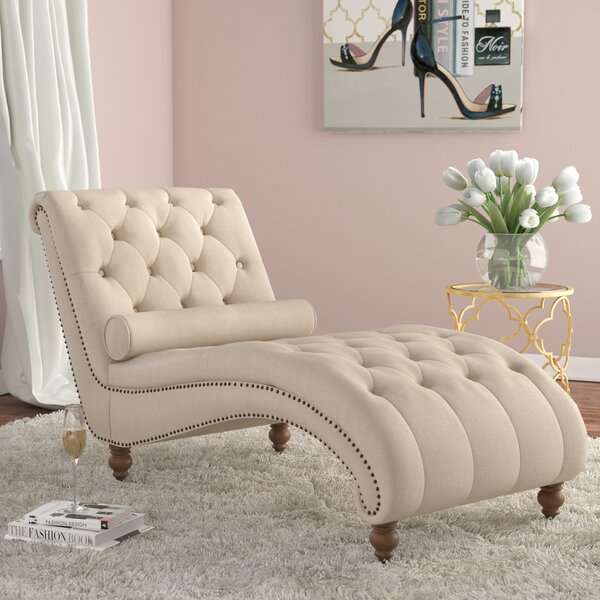 Yarmouth Chaise Lounge by House of Hampton