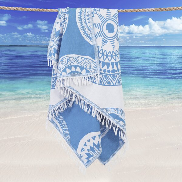 Badillo Pestemal Turkish Cotton Beach Towel by Bungalow Rose