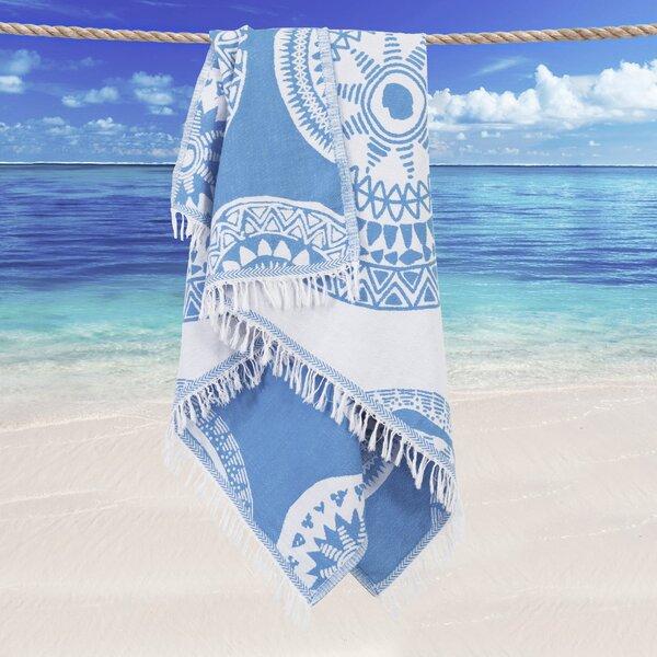 Badillo Pestemal Turkish Cotton Beach Towel by Bun