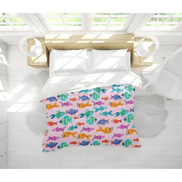 Lenore Fish Light Weight Comforter Set