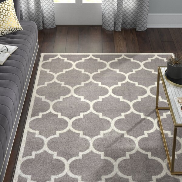Karr Gray Area Rug by Willa Arlo Interiors