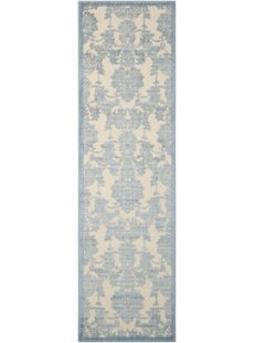 Online Reviews Bacourt Ivory/Light Blue Area Rug By Lark Manor
