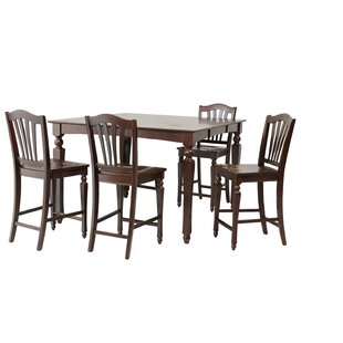 Onoway 5 Piece Counter Height Dining Set ByTTP Furnish