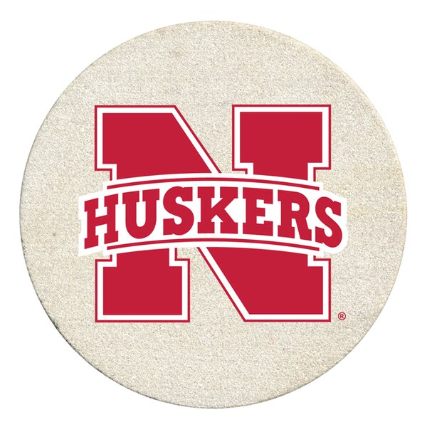 University of Nebraska Collegiate Coaster (Set of 4) by Thirstystone