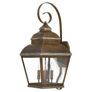 Top Reviews Saniyah 4-Light Outdoor Wall Lantern By Bloomsbury Market