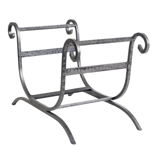 Artisan Steel Log Carrier by Ornamental Designs