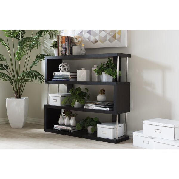 Spicer 3 Tier Etagere Bookcase by Ebern Designs