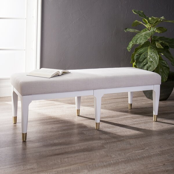 Ayalur Upholstered Bench by Orren Ellis