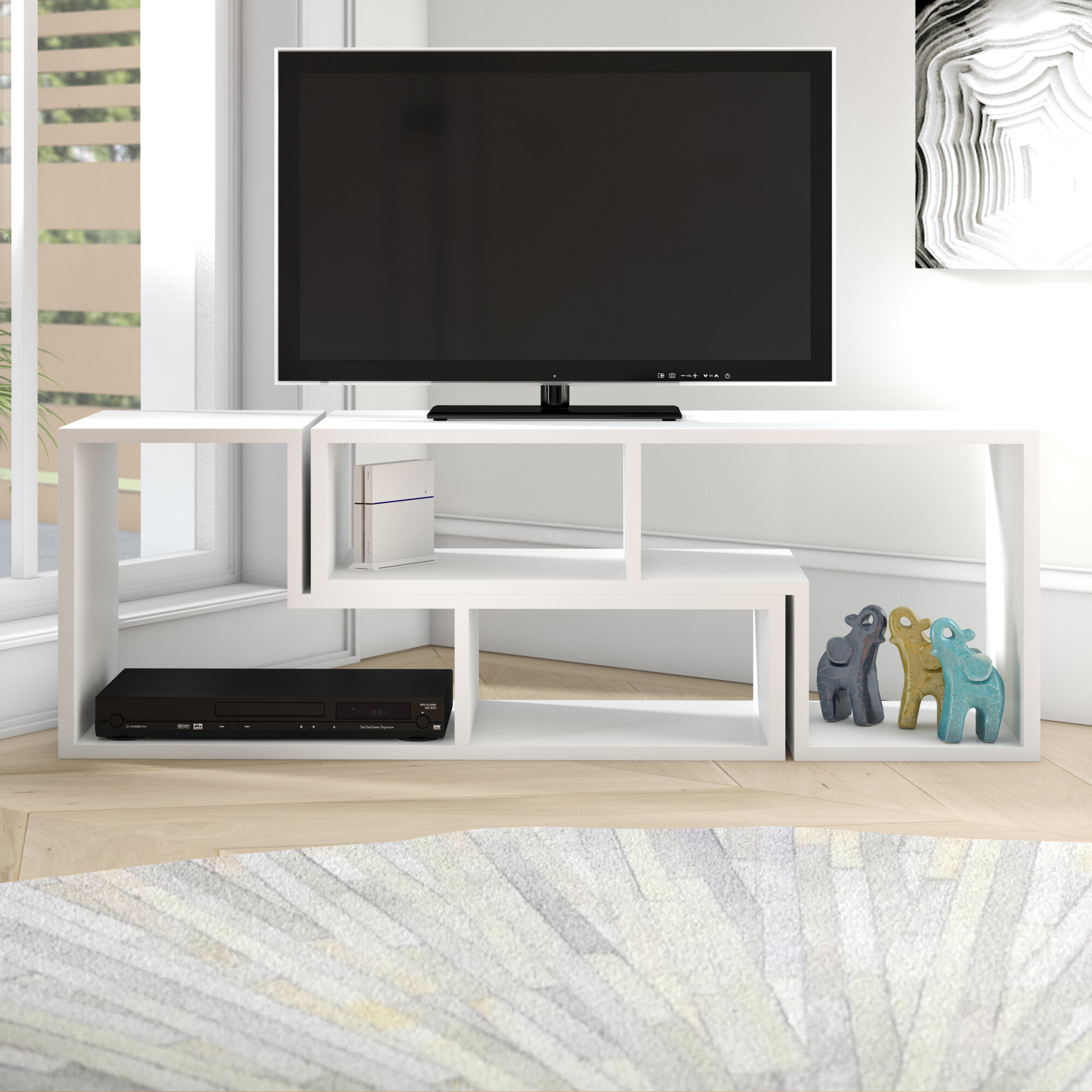 Ebern Designs Bynum Tv Stand For Tvs Up To 55 Reviews Wayfair
