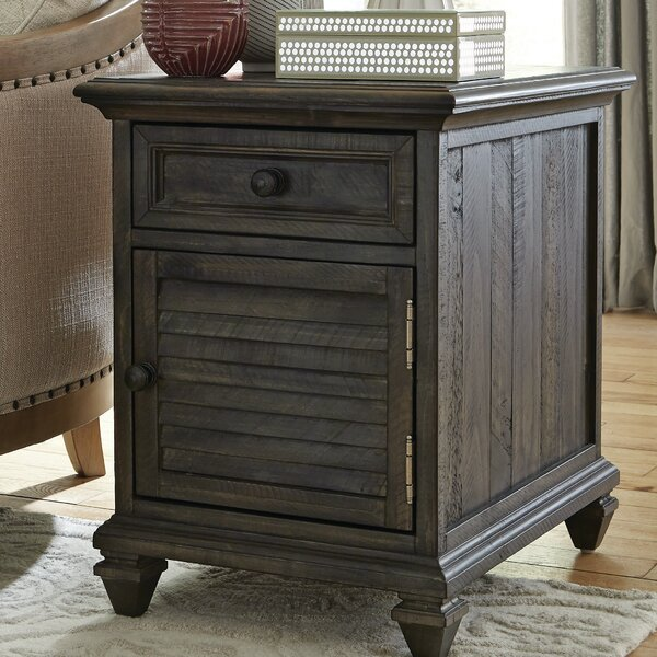 Heitman End Table With Storage By August Grove Today Only Sale