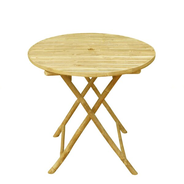 Lefka Round Folding Dining Table by Bay Isle Home
