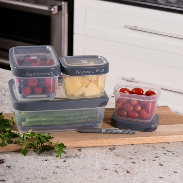 Zakarian Pro For Home 5 Container Food Storage Set by Geoffrey Zakarian