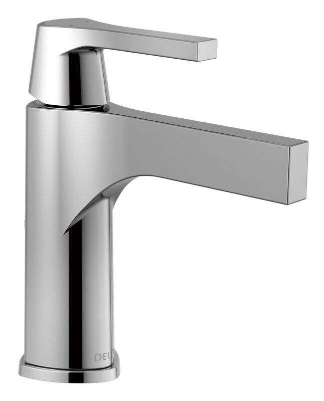 Delta Zura Single hole Bathroom Faucet and Diamond Seal Technology ...