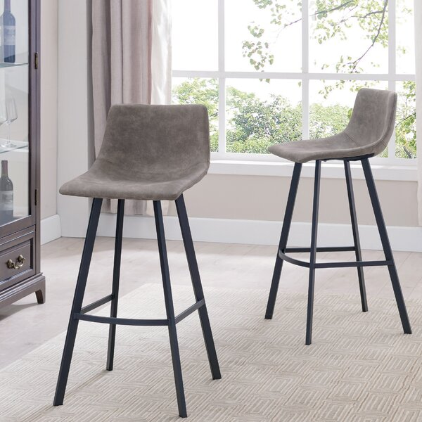Windermere 28'' Bar Stool (Set Of 2) By Wrought Studio
